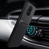 Bakeey for Xiaomi Redmi Note 9 / Redmi 10X 4G Magnetic Texture Non-slip Leather TPU Shockproof Protective Case