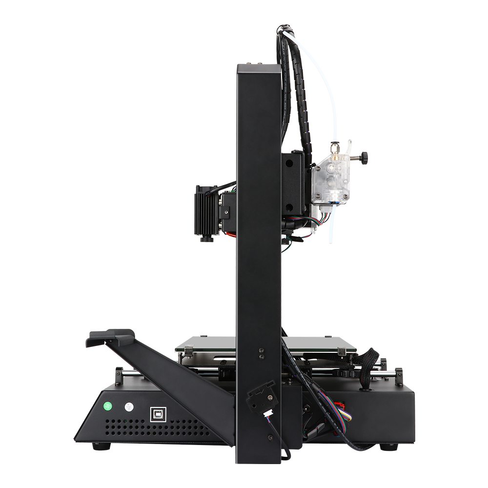 Anycubic Mega Pro Versatile 2-in-1 3D Printer Kit 210x210x205mm Printing Area with TMC2208 Dual Gear Extruder Support Laser Engraving