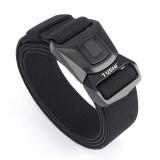 ENNIU 125cm Nylon Tactical Belt Quick-Release Buckle Zinc Alloy Leisure Waist