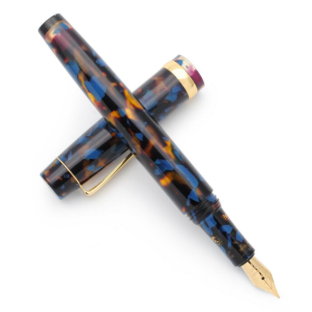 Jinhao 0.5mm F Nib Fountain Pen Acrylic Resin Fountain Pen Medium Nib Writting Pen School Office Stationery Supplies