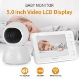 SHIWOJIA Wireless Digital Video Baby Monitor 1080P Night Vision Two Way Audio USB Charging IP Camera