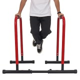 Adjustable Parallel Bars Multifunction Pull Up Stand Dip Bars Muscal Fitness Workout Gym Home Exercise