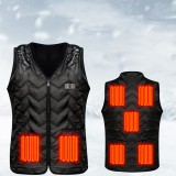 Bakeey Electric Heating Vest Charging Heating Warm Clothes Temperature Control Smart Electric Heating Vest For Winter