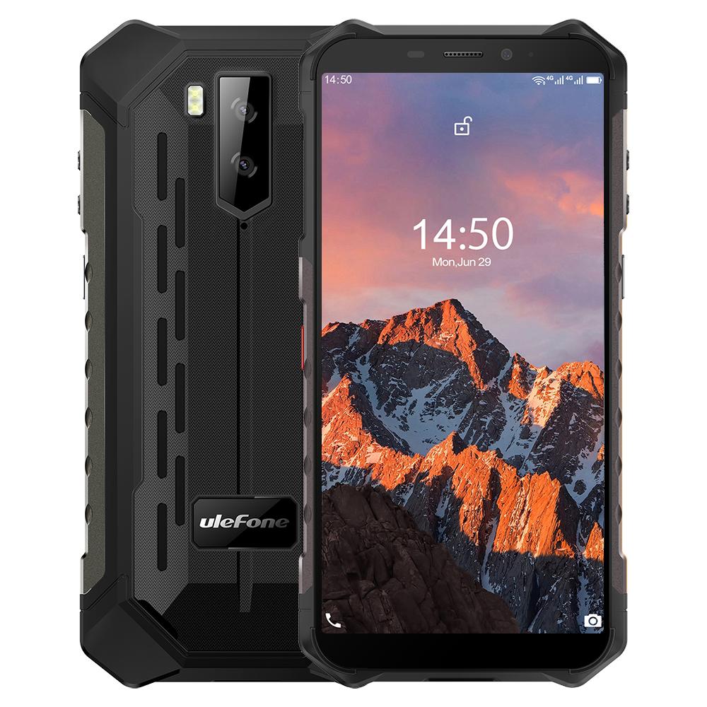 Ulefone Armor X5 Pro 5.5 Inch NFC IP68 IP69K Waterproof 4GB RAM 64GB ROM 5000mAh MT6762 Octa Core 4G Rugged Smartphone