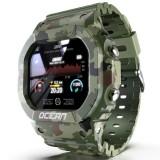 LOKMAT Ocean IP68 Waterproof Multi Sport Modes Tracker Outdoor Wristband Heart Rate Monitor Military Style Smart Watch