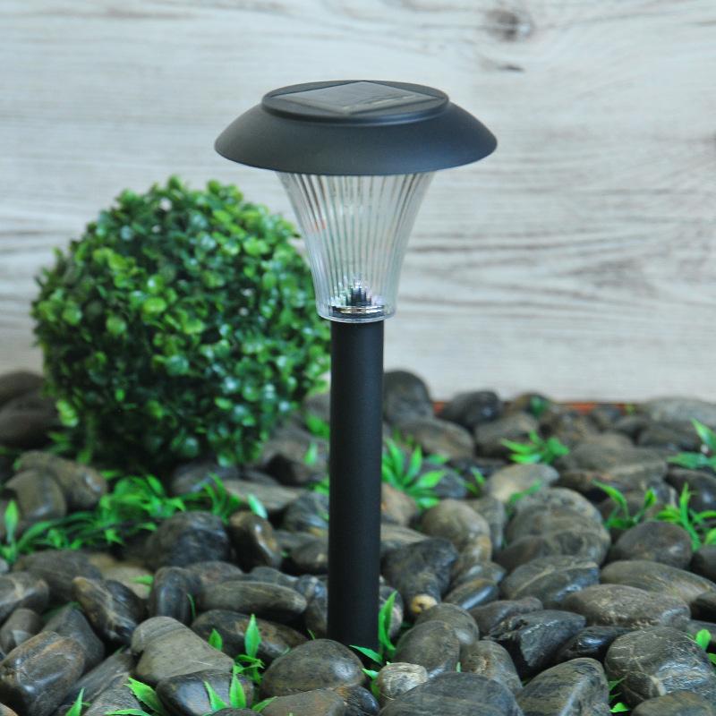 4Pcs LED Solar Lawn Light Ground Plug Light High Brightness Outdoor Waterproof Courtyard Garden Decoration Landscape Lawn Lamp