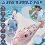 Automatic Music Bubble Maker Cartoon Electric Bubble Machine Toy for Kids