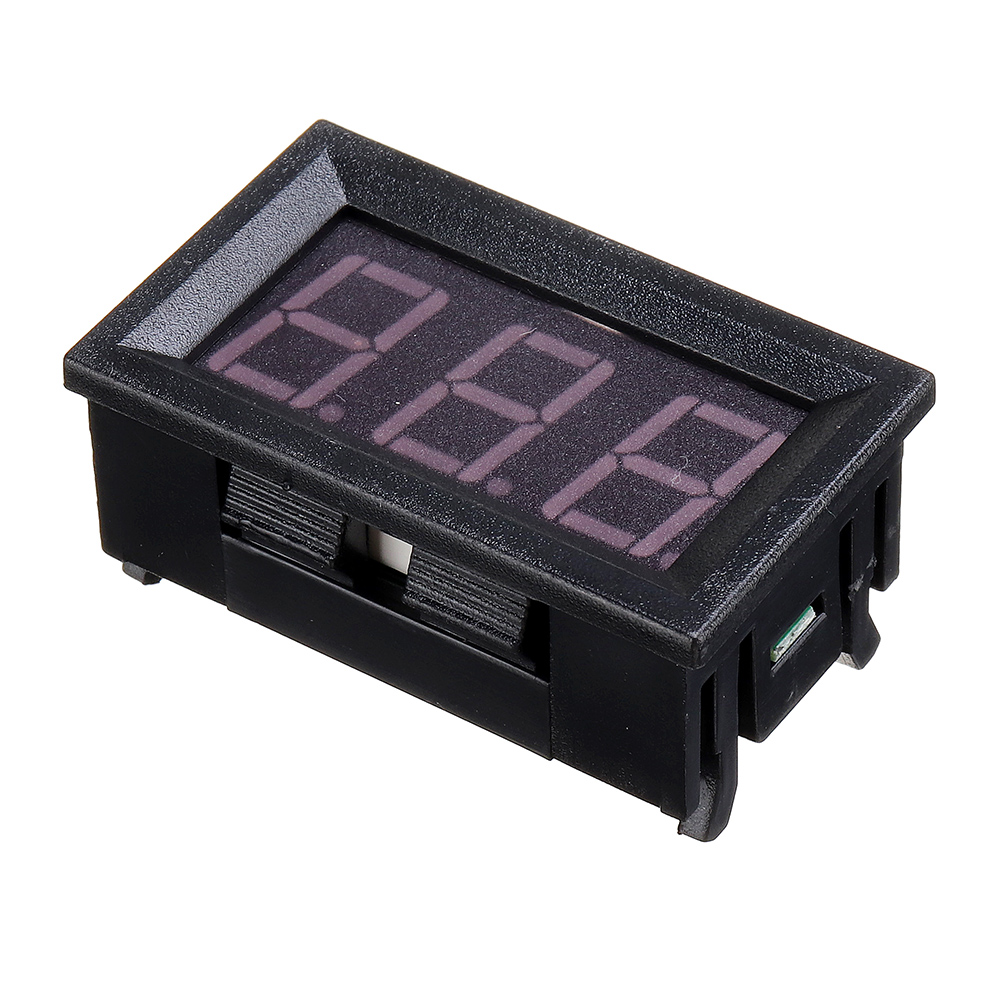 5Pcs 0.56 Inch Mini Digital LCD Indoor Convenient Temperature Sensor Meter Monitor Thermometer with 1M Cable -50-120 DC 5-12V