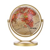 World Globe Map 360Rotating World Globe Earth Map Geography Education Toy Home Decoration Office Ornament Kids Gift