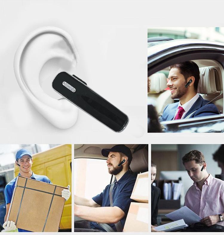 Walkie Talkie K-Type Bluetooth Wireless Headset PTT Earpiece Handfree Headphone Mic For BaoFeng Two Way Radio