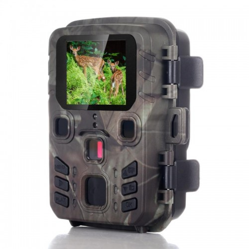 Mini301 16MP 1080P IP65 Waterproof Hunting Trail Camera Outdoor Night Vision Scouting Surveillance Wildlife Camera with PIR Sensor