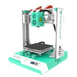 Easythreed K2 Plus 3D Printer Kit 100X100X100mm Print Size with Hotbed/LCD Screen Control/Larger Axis Motor