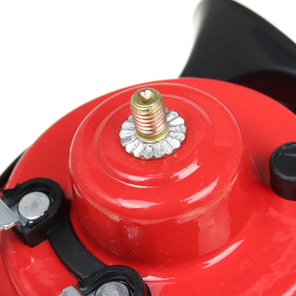 1 PCS 12V 300DB Universal Electric Snail Horn Super Loud Air Horn Waterproof Car Horns