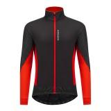 WOSAWE Men's Cycling Jacket Ultralight Reflective Waterproof Windproof Bicycle Coat Windbreaker MTB Road Bike