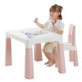 Kindergarten Children's Table and Chair Set Plastic Table and Chair Drawing Baby Learning Table Children's Toy Table Only for Children below Elementary School