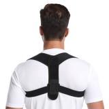 Aolikes Spine Posture Corrector Back Support Belt Adjustable Correction Humpback Band Pain Relief Shoulder Bandage