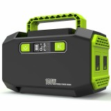 Bakeey Portable 150W 45000mAh Power Station Back Up Power Supply With 2 AC Outlets 250W Max / 3 DC Outputs 120W Max / 2 USB Output 3.1A Max For Home Outdoor Camping Travel Emergency Drones Laptops Tablets Smart Phones Flashlights