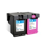 Colorpro 652XL Ink Cartridge Ink Application with Ink Compatible for HP DeskJet Hp1115 HP2135 HP3635 HP1118 Printer