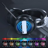 Bakeey Gaming Headphone USB Port 50mm Driver Headset Foldable Over-Ear Gaming Headset Noise Cancelling HIFI Bass Headphone with Mic