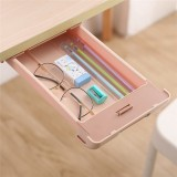 Extra Large Pencil Case Under Desk Drawer Storage Paste Table Bottom Box Stationery School Students Supplies