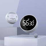 XIAOMI MIIIW Mute Timer Alarm Clock Rotating Timing LED Display Kitchen Digital Timer Magnetic Suction Home Cooking StudyingTiming Tool