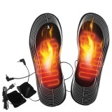 Rechargeable Heated Insoles Foot Warmer Heater Heat Boots Shoes Pad USB Charging Electric Heating Shoes Insoles