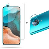 Bakeey Blue Anti-Scratch Rear Phone Lens Protector + HD Clear 9H Anti-Explosion Tempered Glass Screen Protector for Poco F2 Pro / Xiaomi Redmi K30 Pro