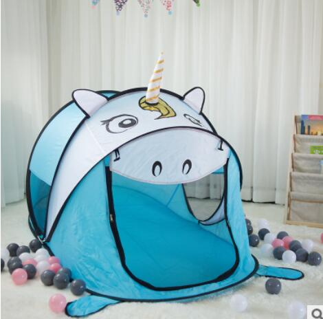 Cartoon Animal Kids Toys Tents Kids Play Tent Boy Girl for Indoor Outdoor Kids House Play Ball Pit Pool Playhouse