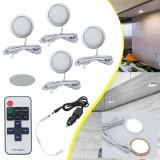 4x 12V LED Cabin Ceiling Lamp Down Light Caravan/Camper/Trailer/Car Warm/ Cool White