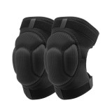 AOLIKES 1 Pair Thickening Sponge Knee Pads Football Volleyball Sports Knee Brace Support Knee Protector