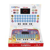Early Educational Learning Laptop Children Piano Music and English Letter Learning Machine For Home Children Gift