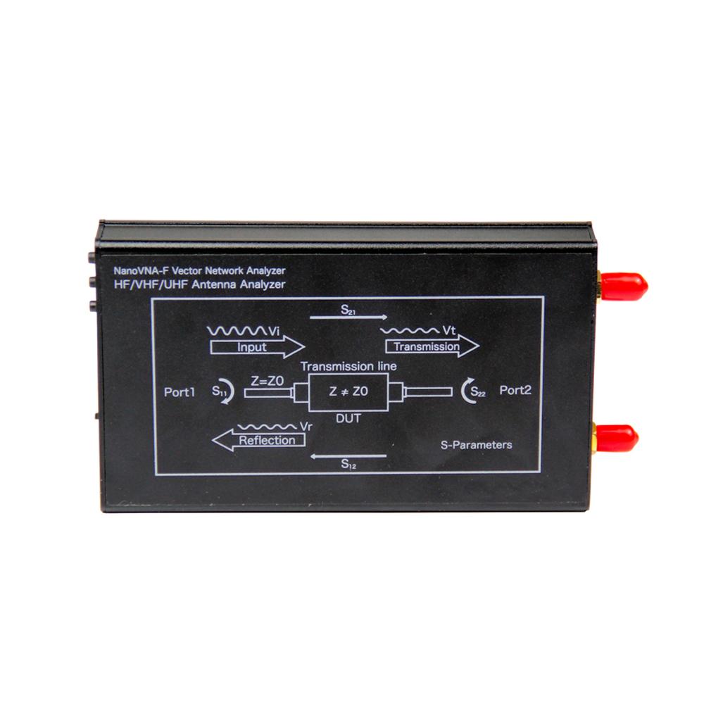 LZNanoVNA-F V2 50KHz-3000MHz Vector Network Analyzer Digital Nano VNA Tester MF HF VHF UHF USB Logic Antenna Analyzer Standing Wave