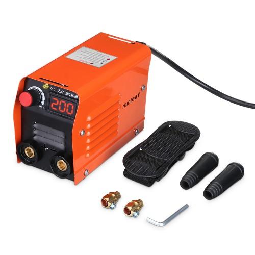 Minleaf ZX7-200 200A 220V Mini Electric Welding Machine Portable Digital Display IGBT DC Inverter ARC MMA Stick Welder