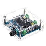 TDA7498 Digital Bluetooth Power Amplifier Board Ultra Long Distance Support AUX Onboard Potentiometer Dual 100W + Shell Class D