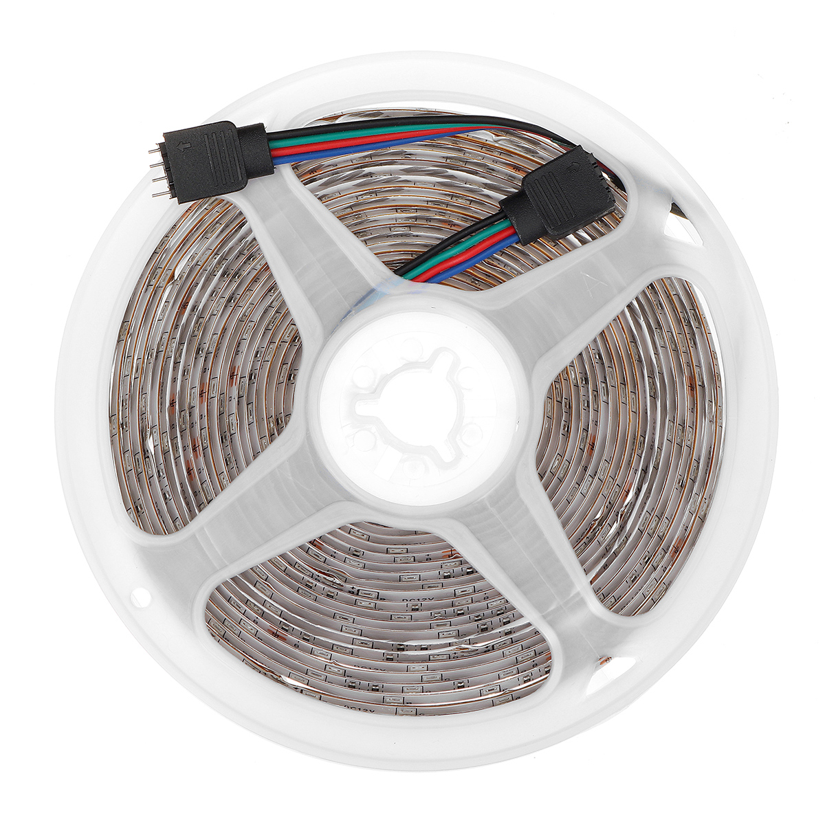 16FT 5M 2835 RGB 300LED Light Strip Waterproof/Non-waterproof Music Lamp with 20Keys Remote Control + Power Adapter