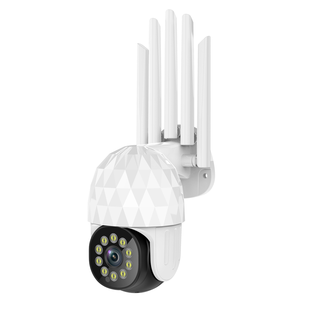 GUUDGO Diamond 10LED HD 1080P WIFI IP Camera Two Way Audio Wireless Camera H.264 PTZ Auto Tracking Night Vision Camera