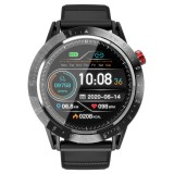 LOKMAT COMMET Heart Rate Monitor Female Health Music Control Alarm Clock 10 Sport Modes IP68 Waterproof Smart Watch