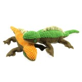 Yani Cute Stuffed Lizard Pet Dog Chew Squeaker Toys Plush Vocal Puppy Dogs Cat Chew Squeak Supplies