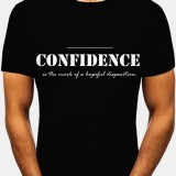 Cotton Mens Letter Print Crew Neck Short Sleeve Casual T-Shirts