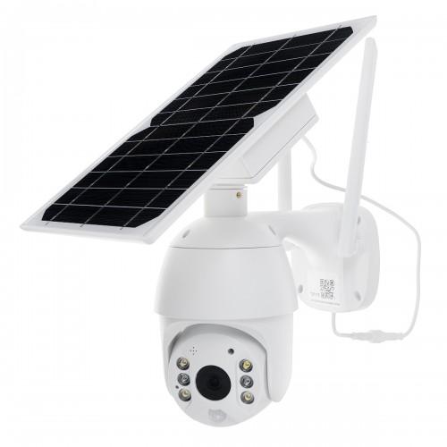 Bakeey 1080P HD Solar IP Camera Wireless Wifi Security IP66 Waterproof Camera 350 Pan Tilt Zoom IR Network CCTV Surveillance Outdoor Speed Dome