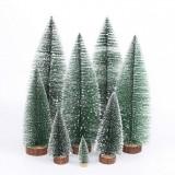 2020 Christmas Ornament Tree New Year's Mini Christmas Tree Small Pine Tree Home Office Desktop Mini Christmas Decor