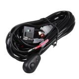 12V Relay Switch Control Led Light Bar Wiring Harness Fog Work Spot Kit 2.0/3.0M