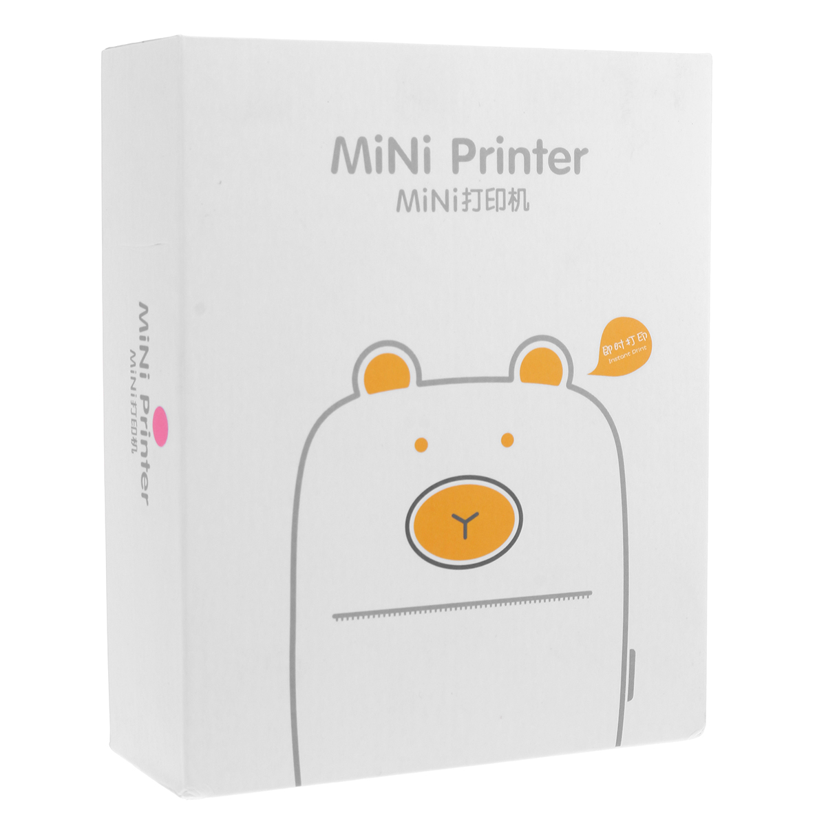 Wireless Mini Label Printer Portable Thermal Label Printer Pocket Label Maker La