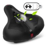 SGODDE Bike Seat Memory Foam Bike Saddle comfortable Soft Bike Cushion for MTB Mountainbike Road Bike