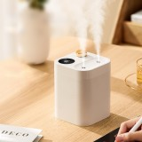 Zaiwan BF13 800ml Humidifier Double Nozzle Humidity Wide Screen Display Portable Essential Oil Mist Maker for Home Air Damper Aroma Diffuser