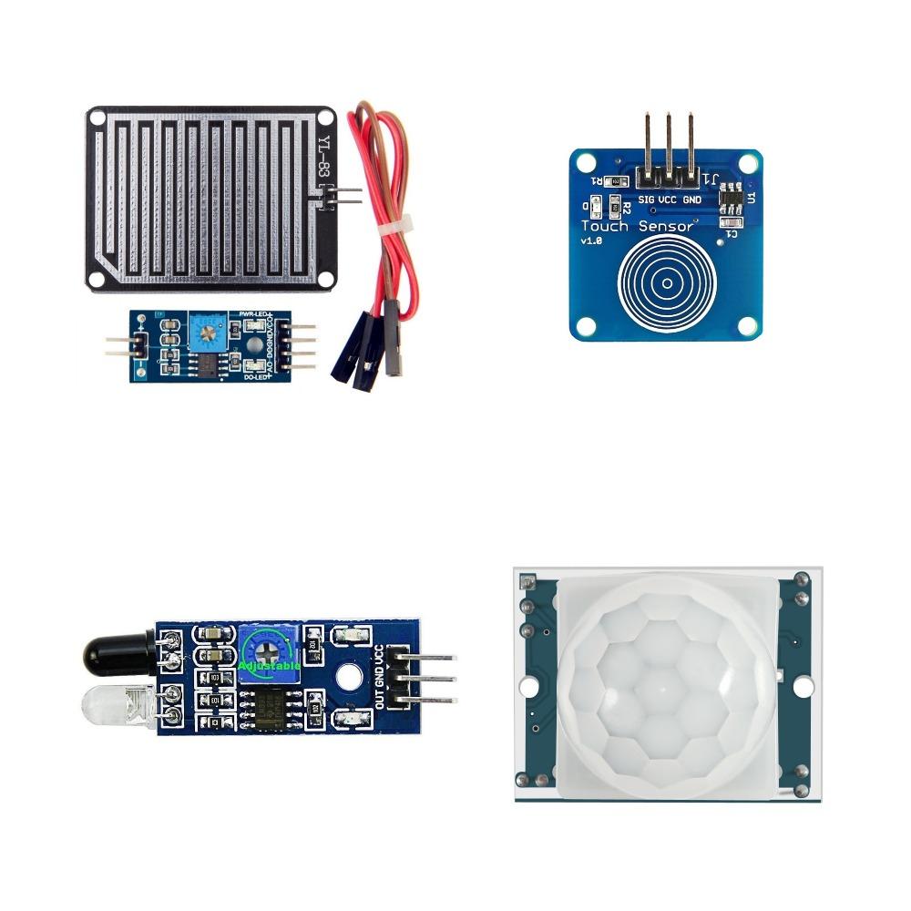 22 In 1 Sensor Module Kits for Arduino Sensor Raspberry Pi IoT Beginner Learning Starter Kit