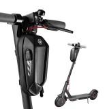 CoolChange Mini Size EVA Hard Shell Electric Scooter Front Bag With USB Charging Port Waterproof Bike Handlebar Bag Road Bike Accessories