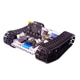 Yahboom Building:bit Block Kit Based on Micro:bit Programmable Building Block Kit Children's Electronic Module Python Programming Educational Toy Robot