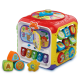 Vtech Fun Cube Children's Puzzle Game Box Baby Fun Six-sided Box Early Learning Learning Toys