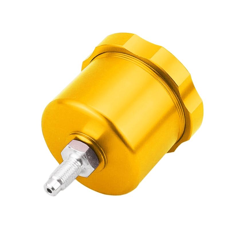 XH-BK017 Car Racing Drift Modified Aluminum Alloy CNC Competitive Hydraulic Handbrake Oil Tank Pot (Gold)